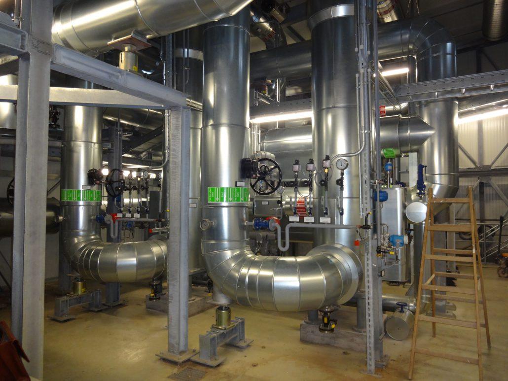 Technologien, Anlagenhydraulik und Rohrleitungsplanung