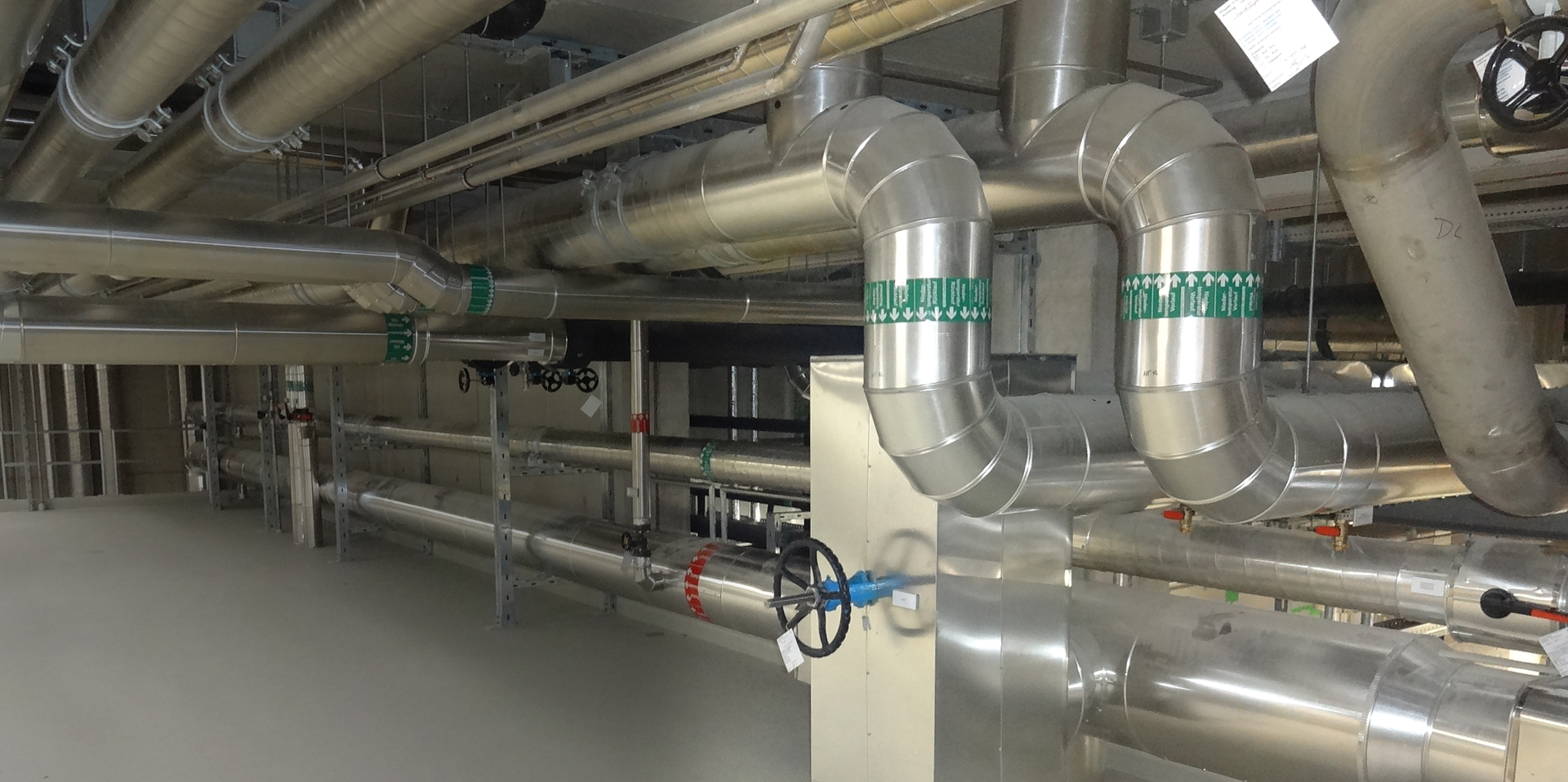 Technologien, Optimierung von Verteilnetzen, Heisswassernetze, Kaltwassernetze