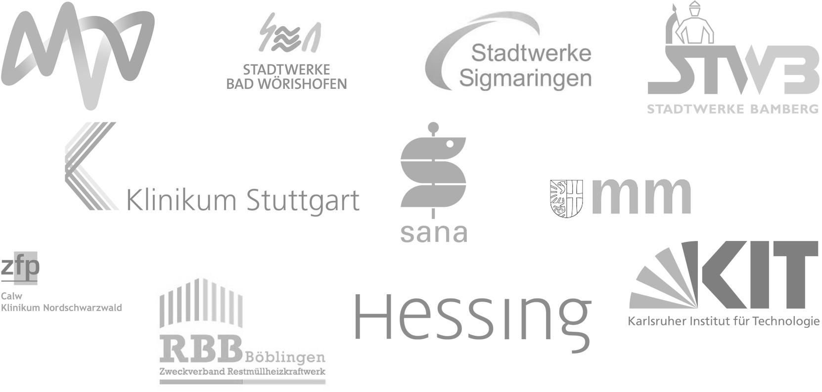 Logos, Kunden, Auftraggeber