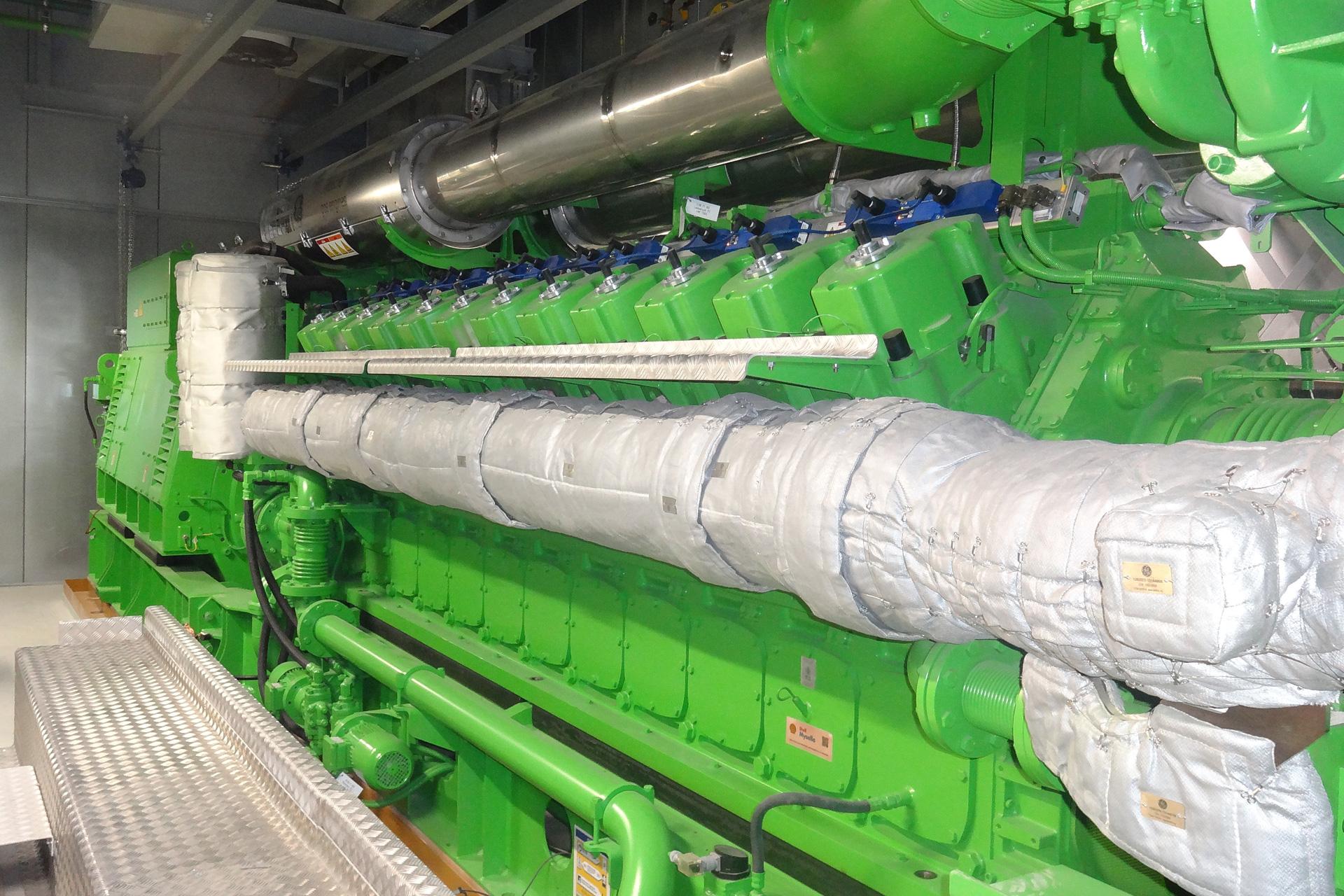 Referenzen, Blockheizkraftwerke, BHKW, 4,4 MW mit AHK und AKM