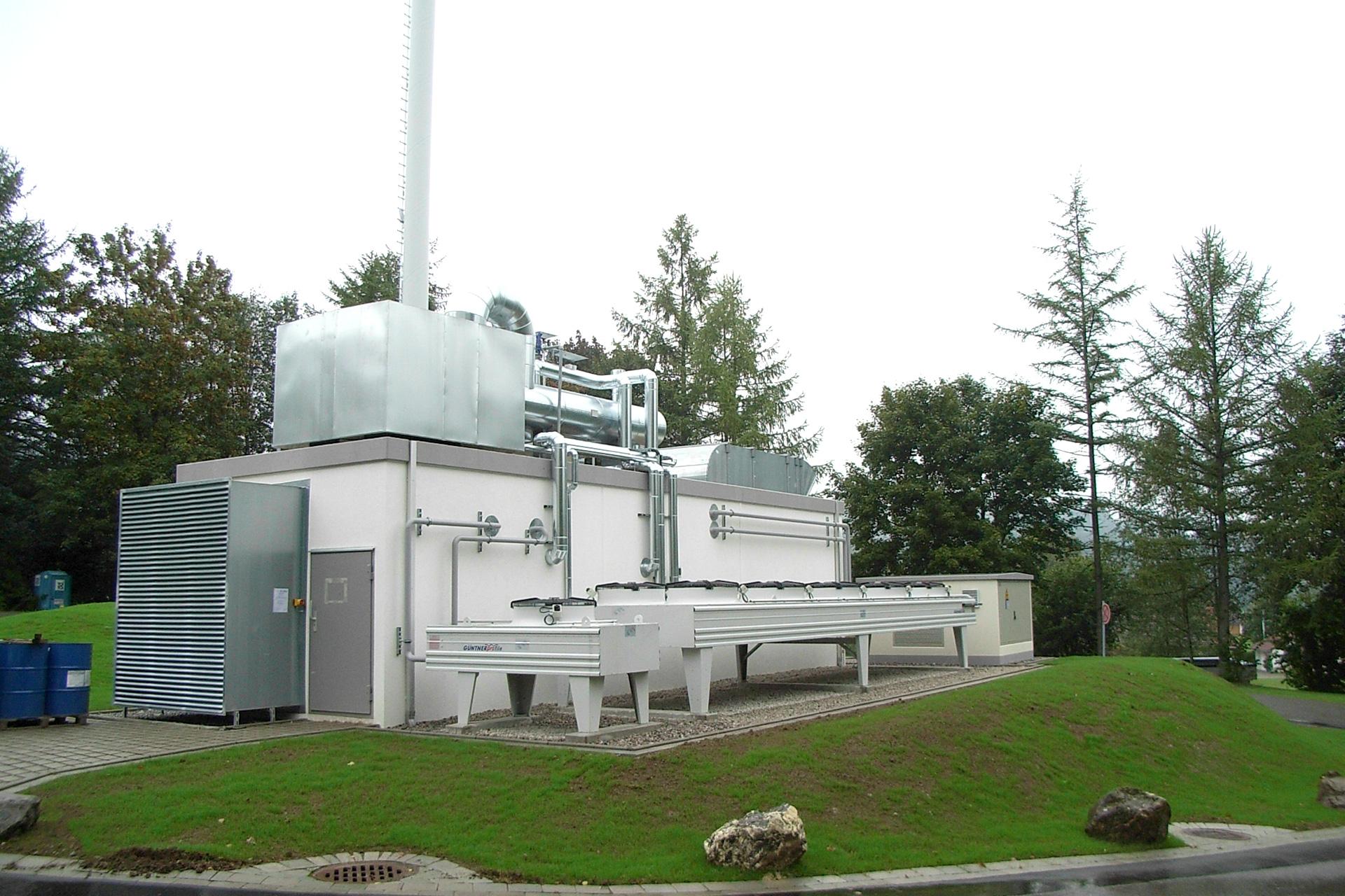 Referenzen, Blockheizkraftwerke, BHKW, 0,8 MW