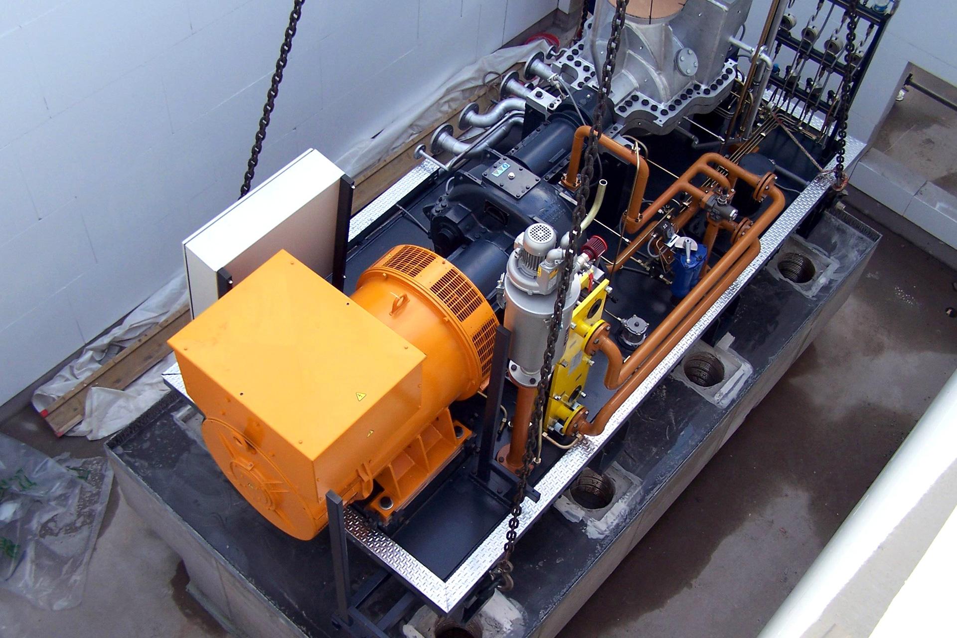 Referenzen, Gas-und Dampfturbinen, Dampfturbine