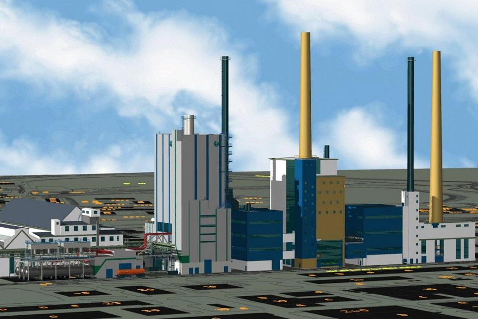 Referenzen, Gas-und Dampfturbinen, Gas-und Dampf - Kraftwerk, 120 MW