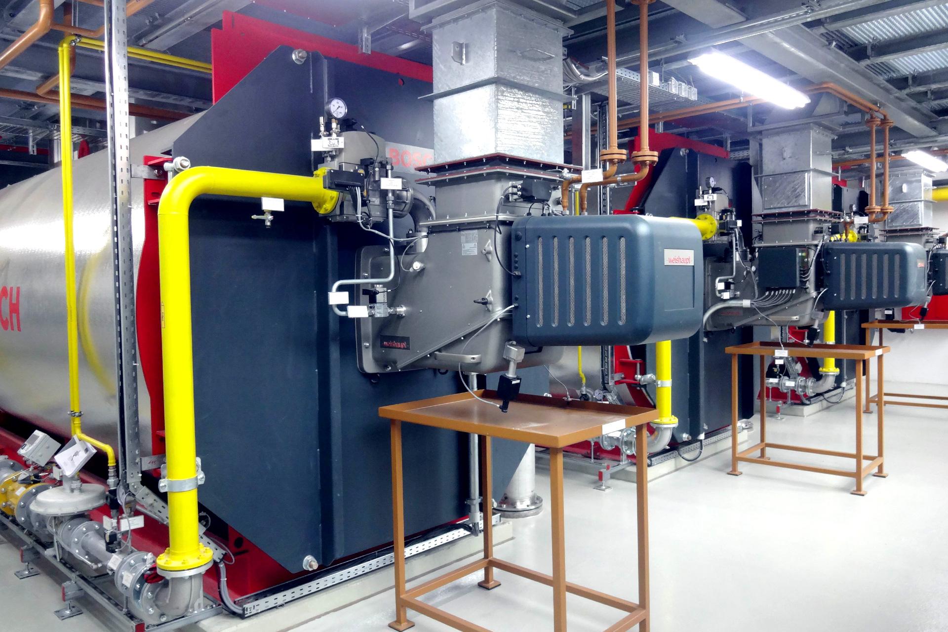 Referenzen, Heiz-und Dampfkesselanlagen, Heizkessel