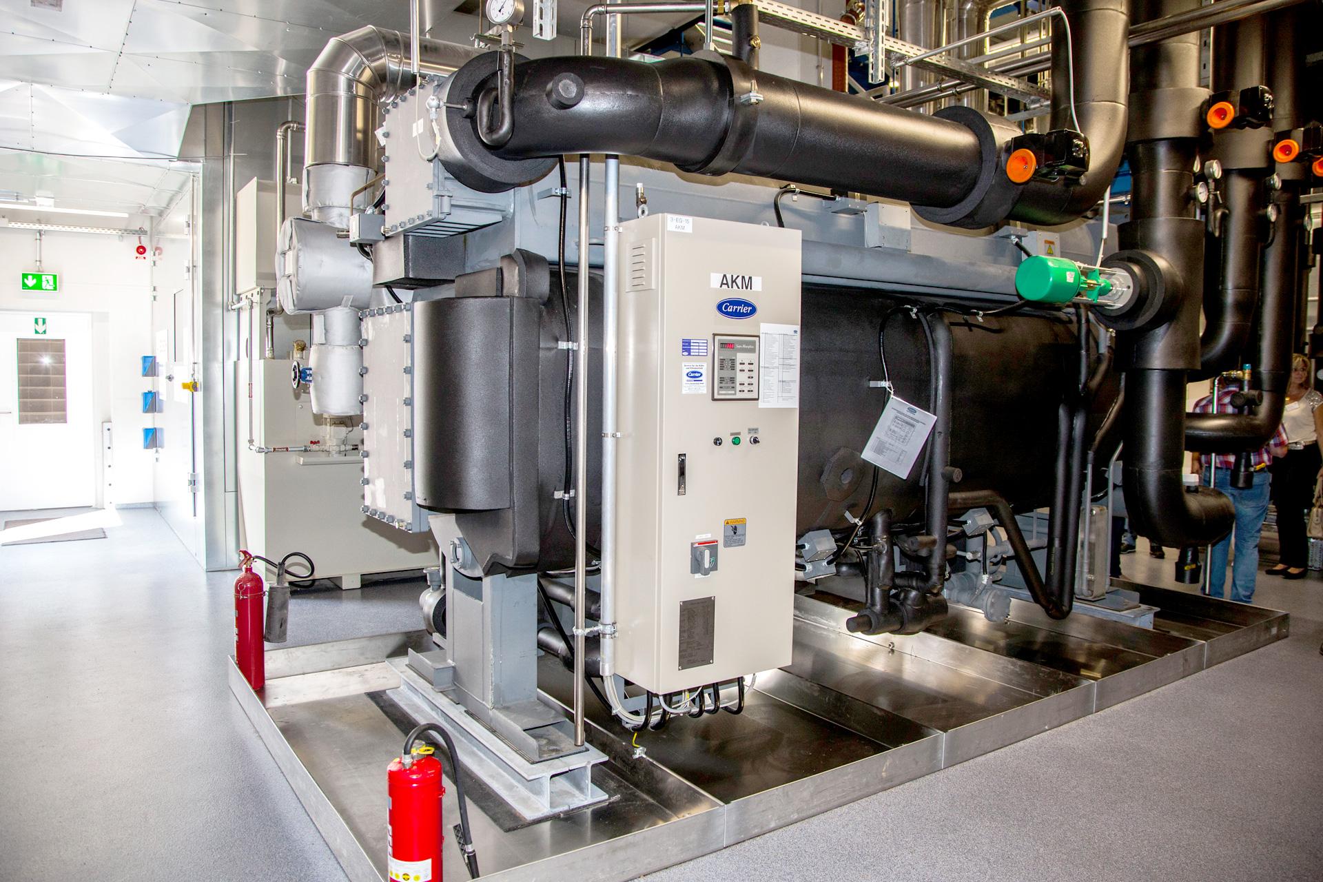 Referenzen, Kälteerzeugung, Absorptionskältemaschine