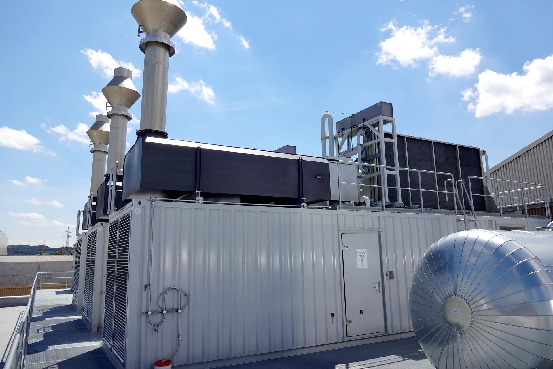 Notstromdieselanlage 3x2 MW, Referenzen