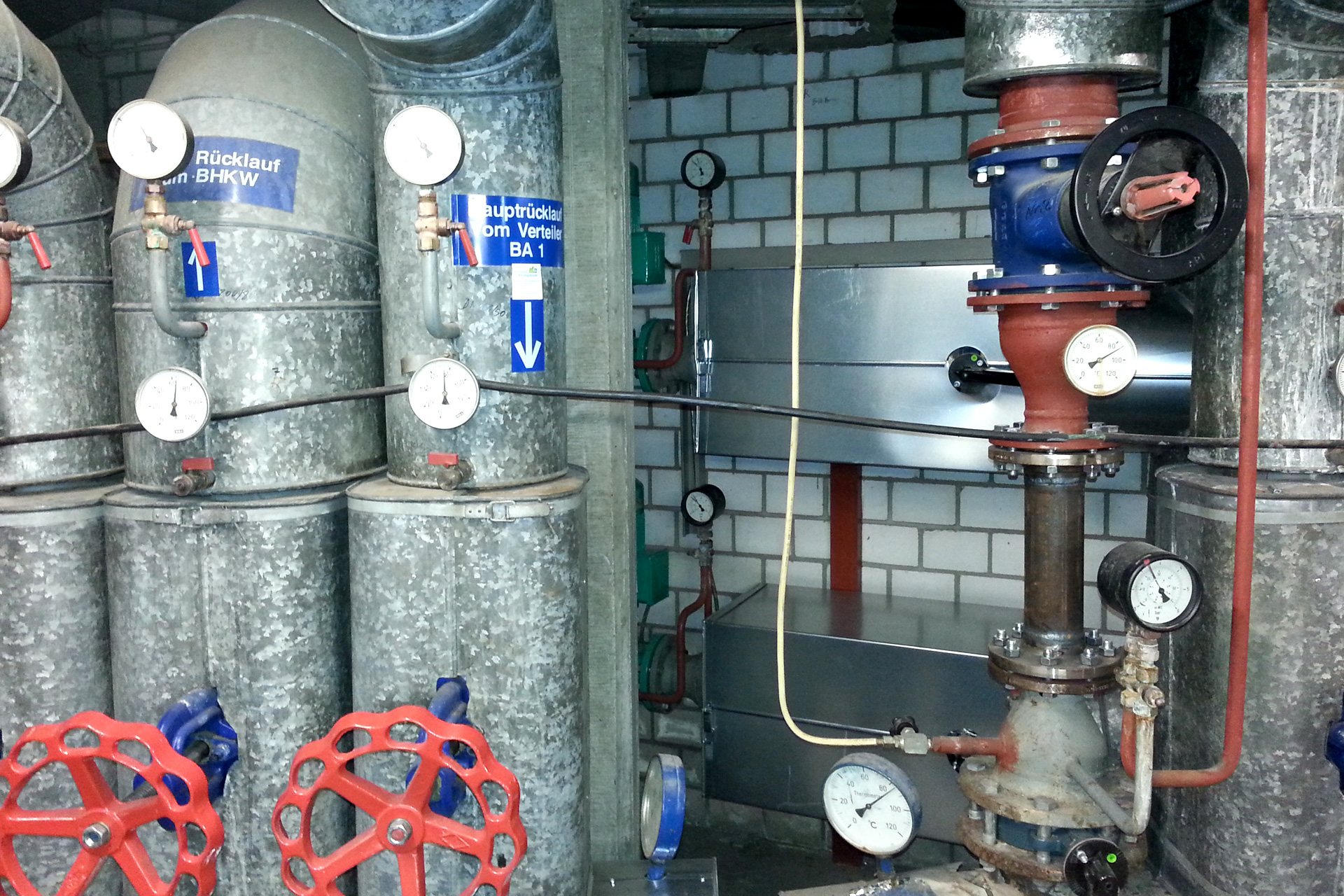 Referenzen, Wärmenetzoptimierung, Optimierung von Verteilnetzen