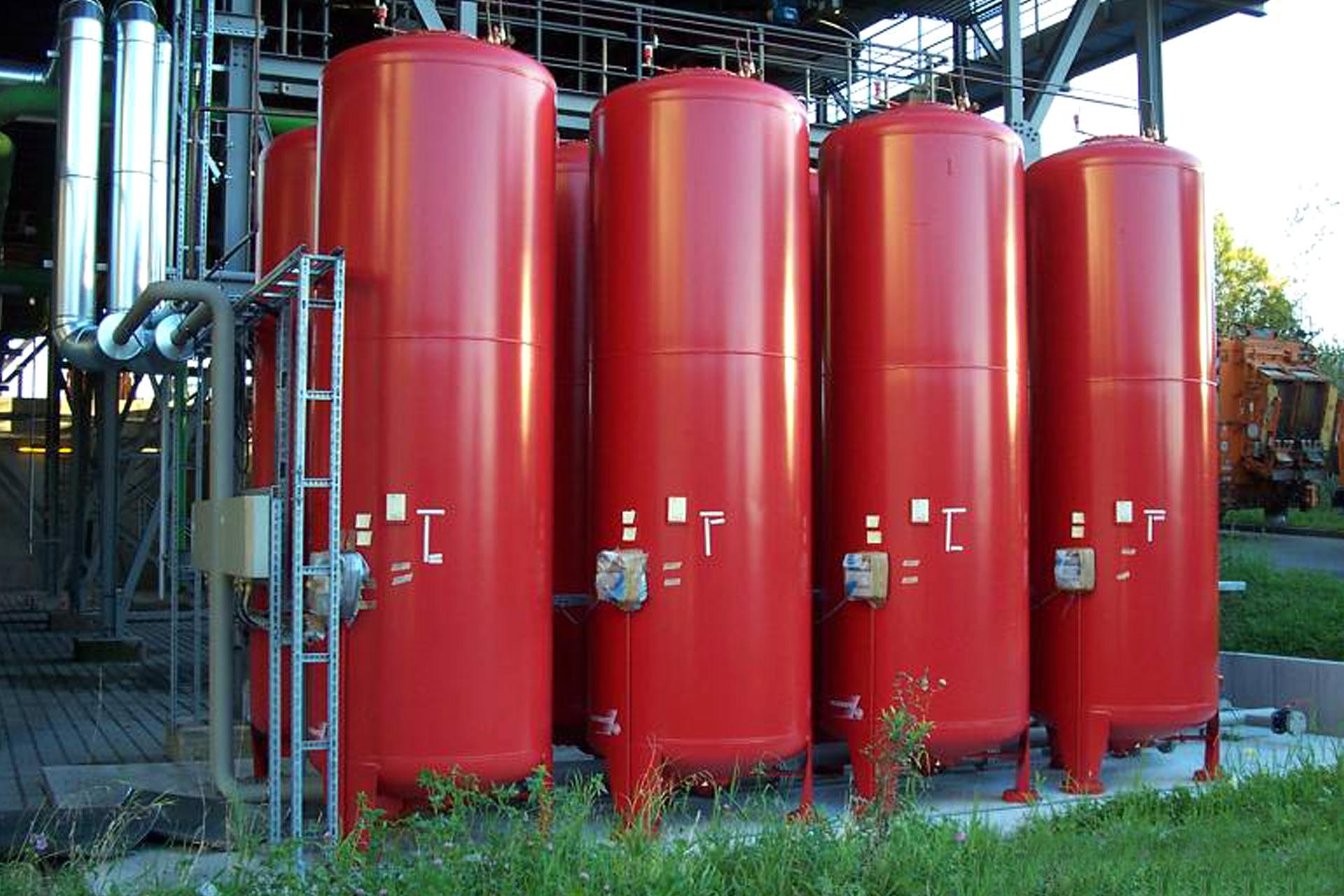 Fernwärme-Anbindungen, Referenzen, RMHKW, Fernwärmeauskopplung