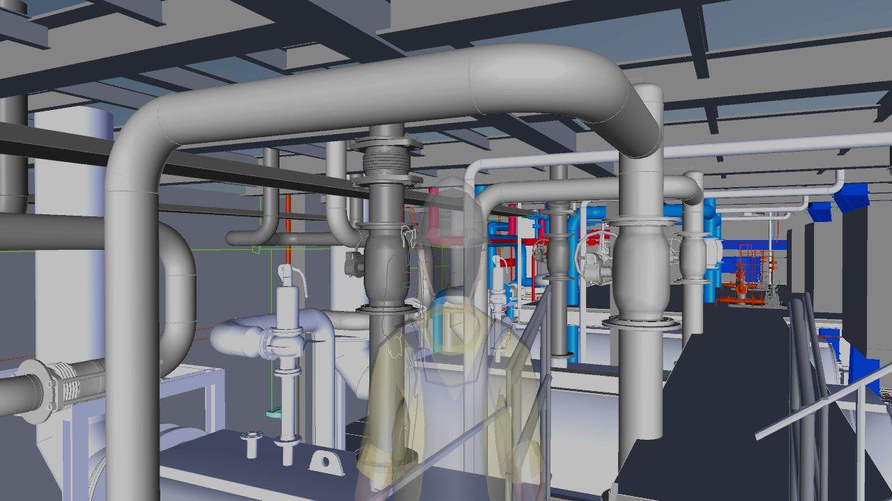 3D Planung, Rohrleitungsplanung