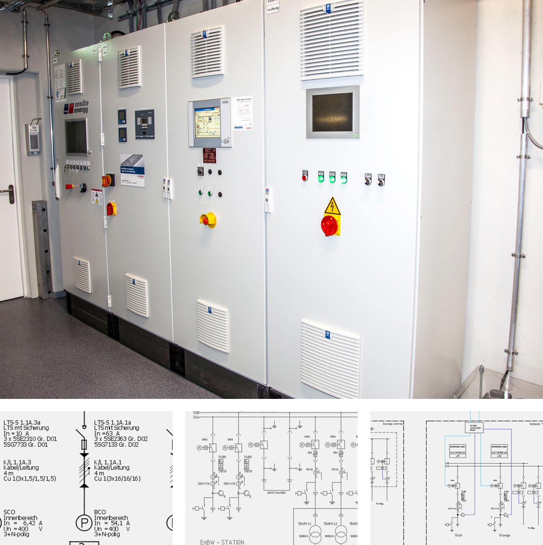 ElEktroplanung, Stromnetze für Werke und Areale, Technologien